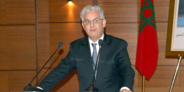 """Nizar Baraka, s'exprimant mardi à Rabat, lors de la clôture de la 3ème édition de la """"Morocco-US Business Development Conference"""""""