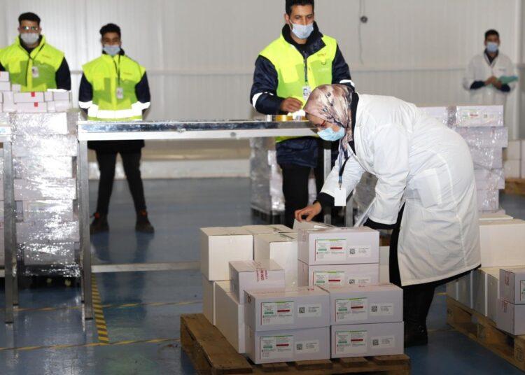 Casablanca : Opération de distribution du vaccin contre le nouveau coronavirus
