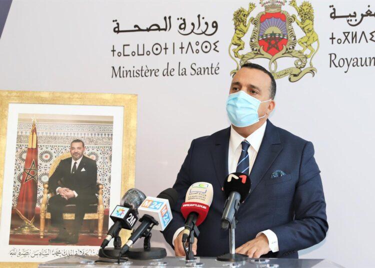 M. Abdelkrim Meziane Belfkih donne une déclaration bimensuelle sur la situation épidémiologique du Covid-19 au Maroc